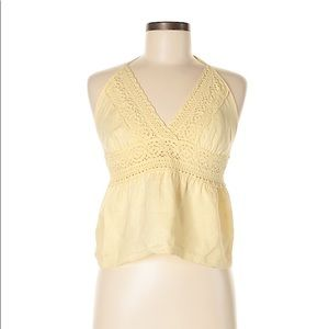 Fei Linen Boho Halter for Anthropologie